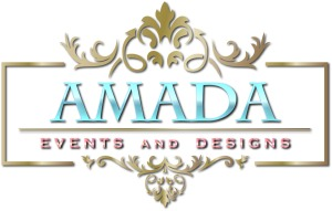 Amada Events  Designs Logo